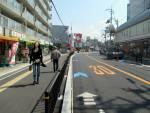 自転車に優しい側溝/総持寺駅前整備工事