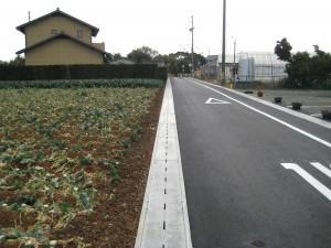 道路側溝ディンプル